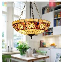 Amerikaanse land Tuin slaapkamer woonkamer light50CM Europese opknoping lightshell studie retro lamp verlichting