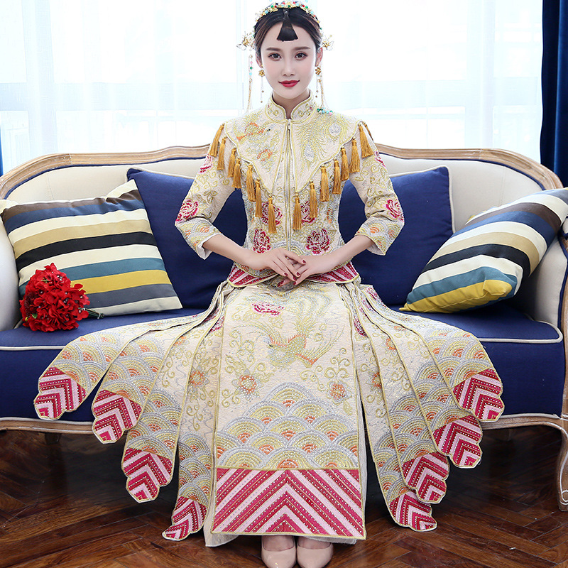 Bride Traditions 2018 Modern Cheongsam White Qipao Chinese Traditional Wedding Dress Oriental Style Dresses China Clothing Store cele goldsmith lalli modern bride® wedding celebrations