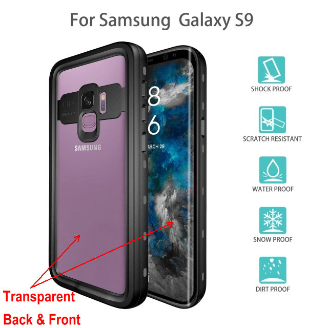 samsung s9 plus waterproof case (2)_