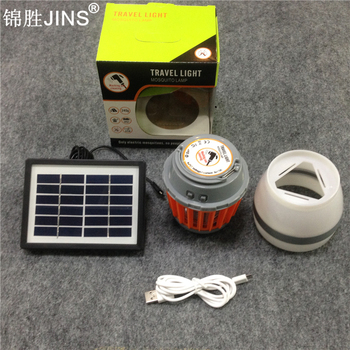Outdoor Waterproof Solar Mosquito Killer Lamp Camp Tents USB Torch Kill Mosquitoes Bed Sleep Lamp Night Lights