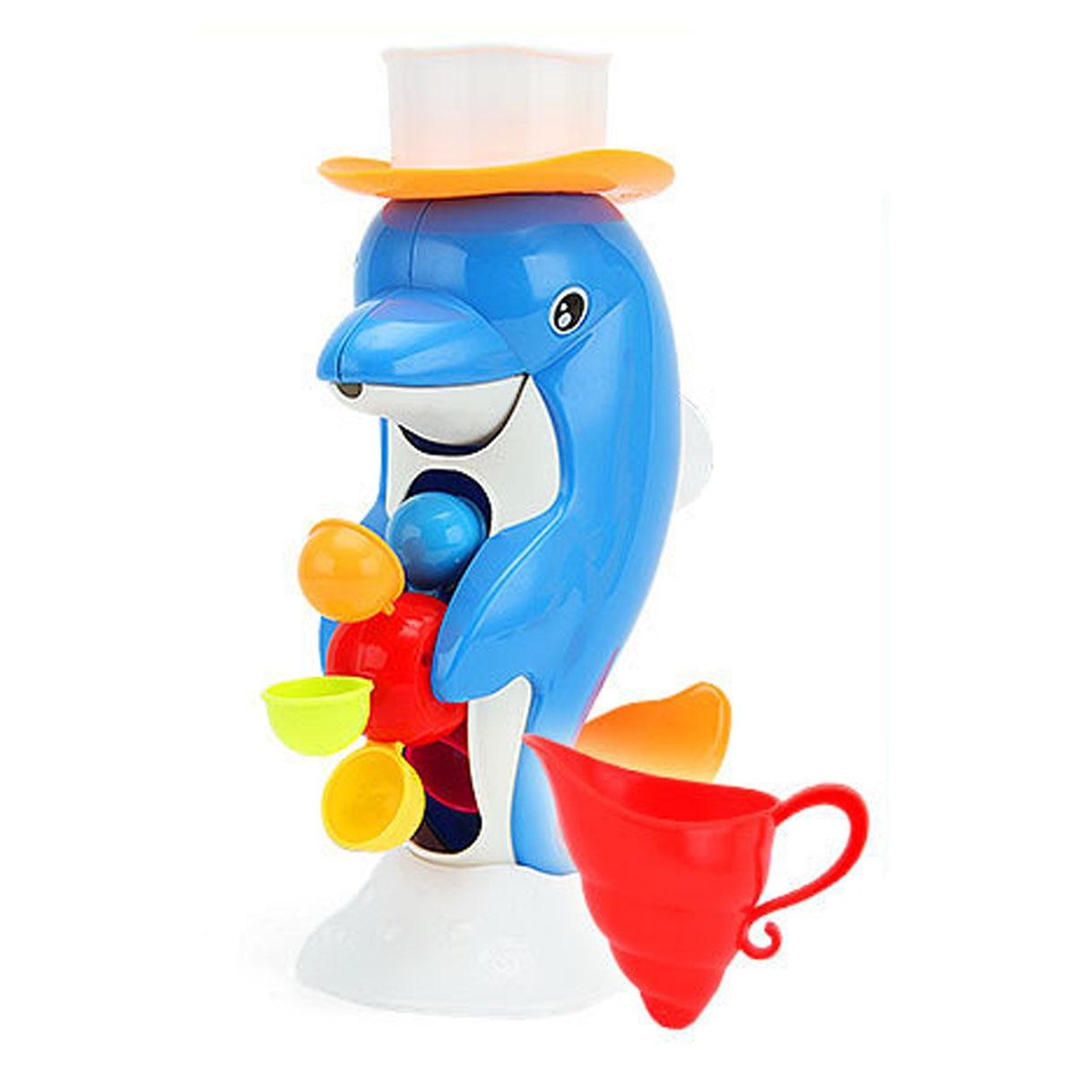 Bath Toy Buddy Dophin: 1Pcs Bathroom Baby Kids Toddler Bathing Water Spraying