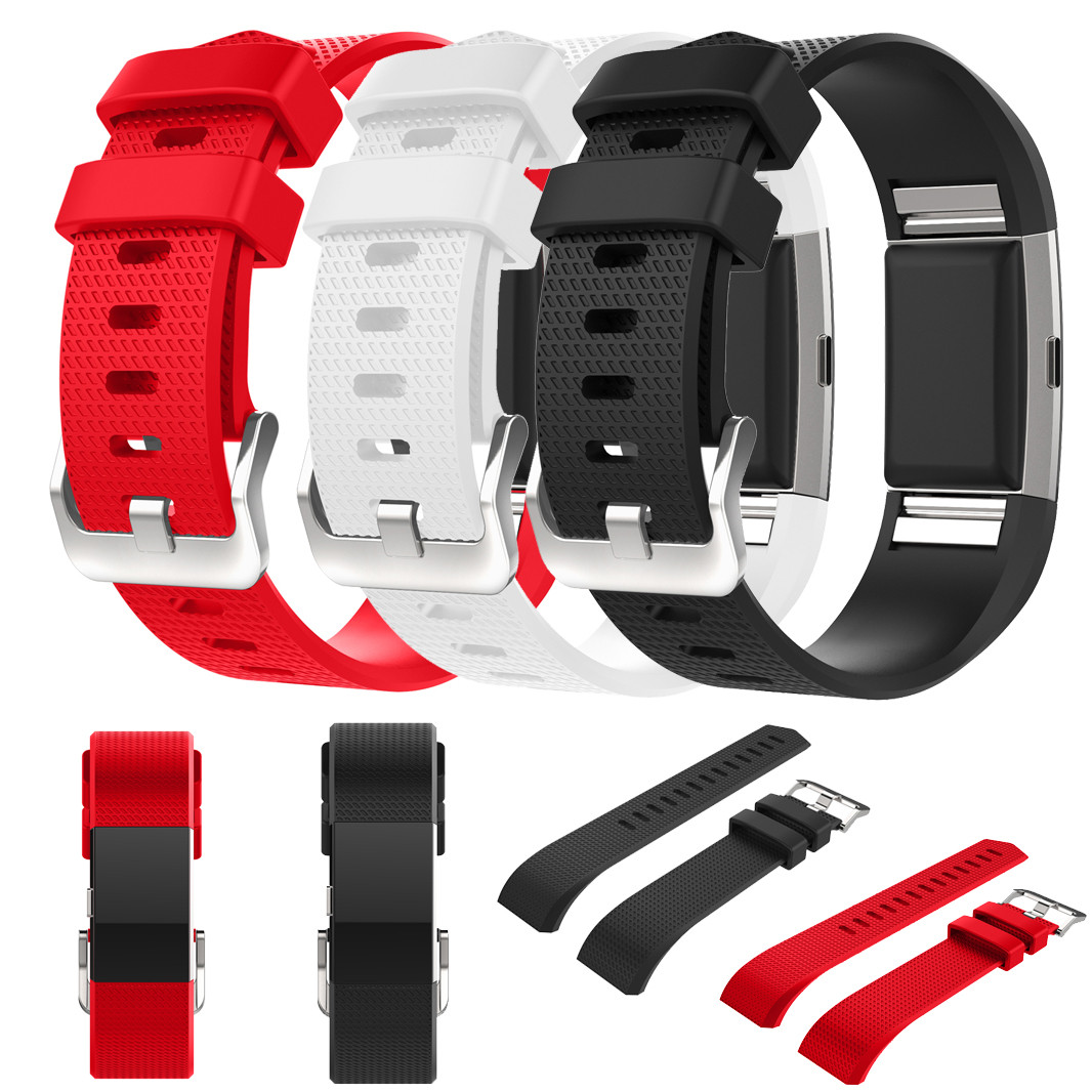 Drop shipping Xiniu 20mm Watchbands Fashion Sports Silicone Bracelet Strap Band For Fitbit Charge 2 Gift Correa de reloj 20mm sports silicone gel bracelet watch strap band for fitbit charge 2 watchbands sporting accessories correa reloj 13 colors