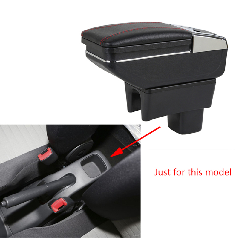 Car Armrest box For SUZUKI Swift central Store content box cup holder ashtray products console arm car styling accessories parts