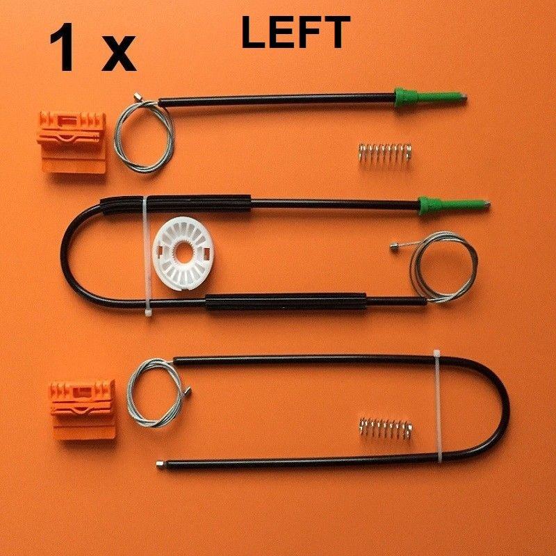 For AUDI A4 B6 B7 2002-2008 Window Regulator Repair Kit Front Left Or Right OE#8E0837461/8E0837462