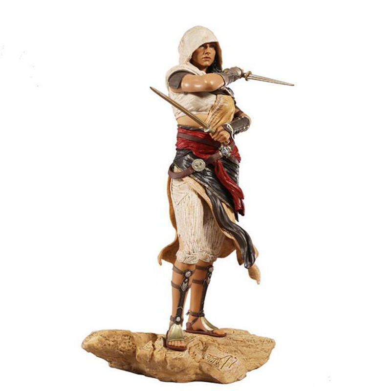 Assassin's Creed Origins 27cm Aya anime figure game peripheral with box decoration action model doll toy gift Y7403 assassins creed origins aya pvc figure collectible model toy 22cm