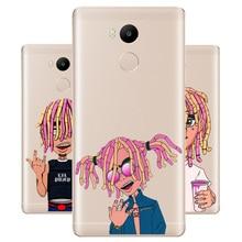DREAMFOX M523 Lil Pump Soft TPU Silicone  Case Cover For Xiaomi Redmi Note 3 4 5 Plus 3S 4A 4X 5A Pro Global