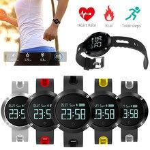 DM58 умный Браслет Приборы для измерения артериального давления сердечного ритма Мониторы Водонепроницаемый смарт-браслет вызова SMS SNS напомнить трекер Smart Band