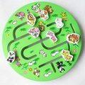 1pc circular animal maze toy children early intelligence educational wooden toy school kindergarten baby gift