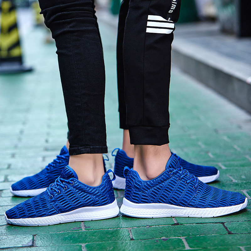 Valentine Shoes Woman Sport Casual Shoes Women Trainers Flat Heel Low Top Women Shoes Outdoor Air Mesh Runner Shoes Flats ZD66 (31)