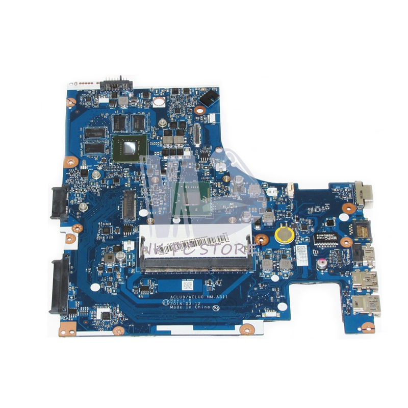 NOKOTION NM-A311 Notebook PC Motherboard For Lenovo G40 G40-30 Main Board 14 Inch N2840 2.16GHZ CPU DDR3 820M Discrete Graphics notebook pc motherboard for lenovo v360 main board system board 48 4jg01 011 ddr3 305m discrete graphics