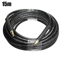 15m High Pressure Washer Water Cleaning Hose Pure Copper for Karcher K Series K2 K3 K4 K5 Car Wash Type A