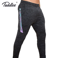 Taddlee Brand Mens Joggers Pants Sports GYM Fitness Trousers Running Active Slim Fit Bottoms Skinny Man
