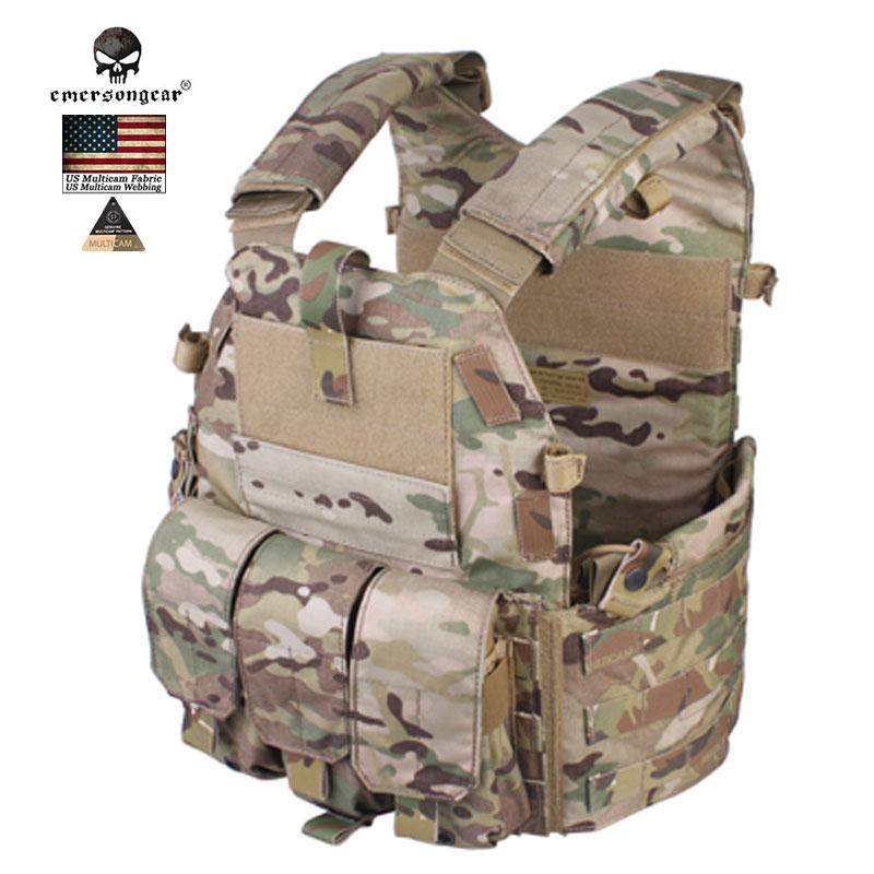 Emersongear 094K  Molle Tactical Vest M4 Pouch Tactical Armour  Chest Rig Combat USA  Muliticam  Security Hunting Airsoft Gears bondibon копилка в технике декопатч сердечко