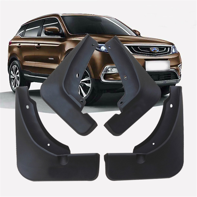 KCSZHXGS Special mud flaps for <font><b>geely</b></font> <font><b>atlas</b></font> mud guards <font><b>geely</b></font> boyue fender mudguards 4pcs/set image