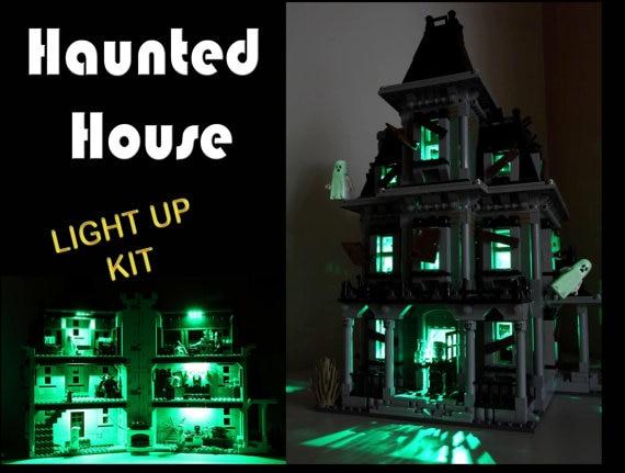 Haunted house model kit
