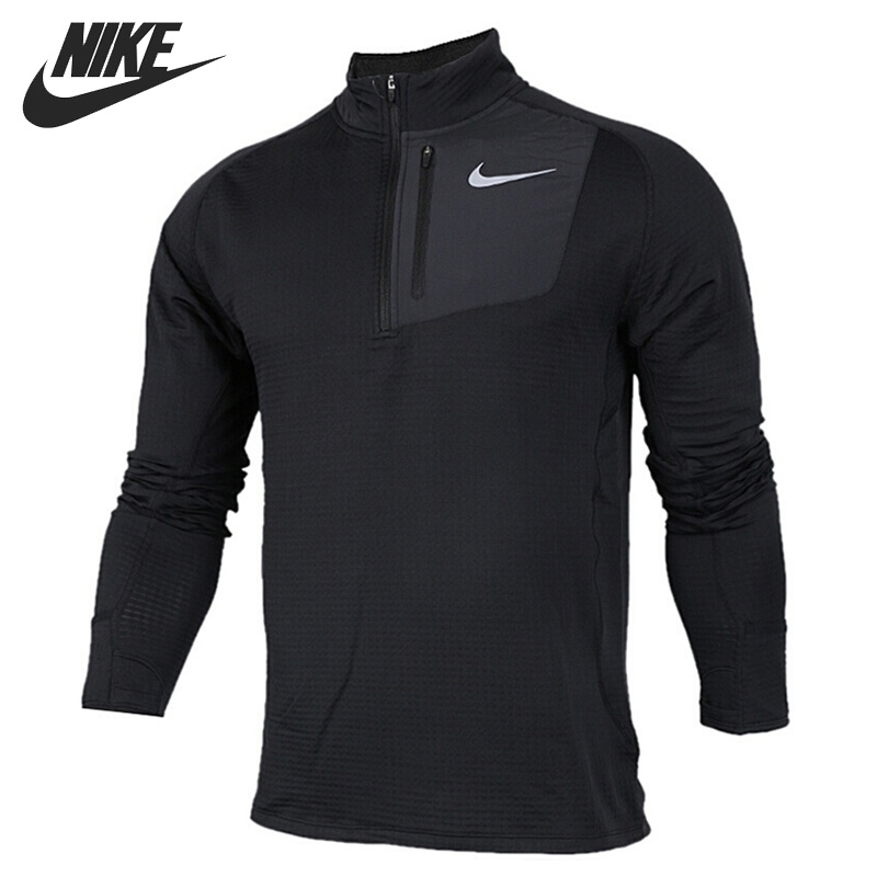 Original New Arrival NIKE THRMA SPHR ELMNT TOP Men's T-shirts Long sleeve Sportswear cropped wide sleeve top
