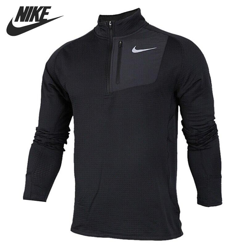 Original New Arrival NIKE THRMA SPHR ELMNT TOP Men's T-shirts Long sleeve Sportswear original new arrival 2017 nike as m np hprwm top ls comp men s t shirts long sleeve sportswear