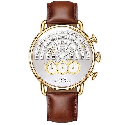 Carnival IW 8816G New Style Mens Concept Chronograph Quartz Watch Wristwatch