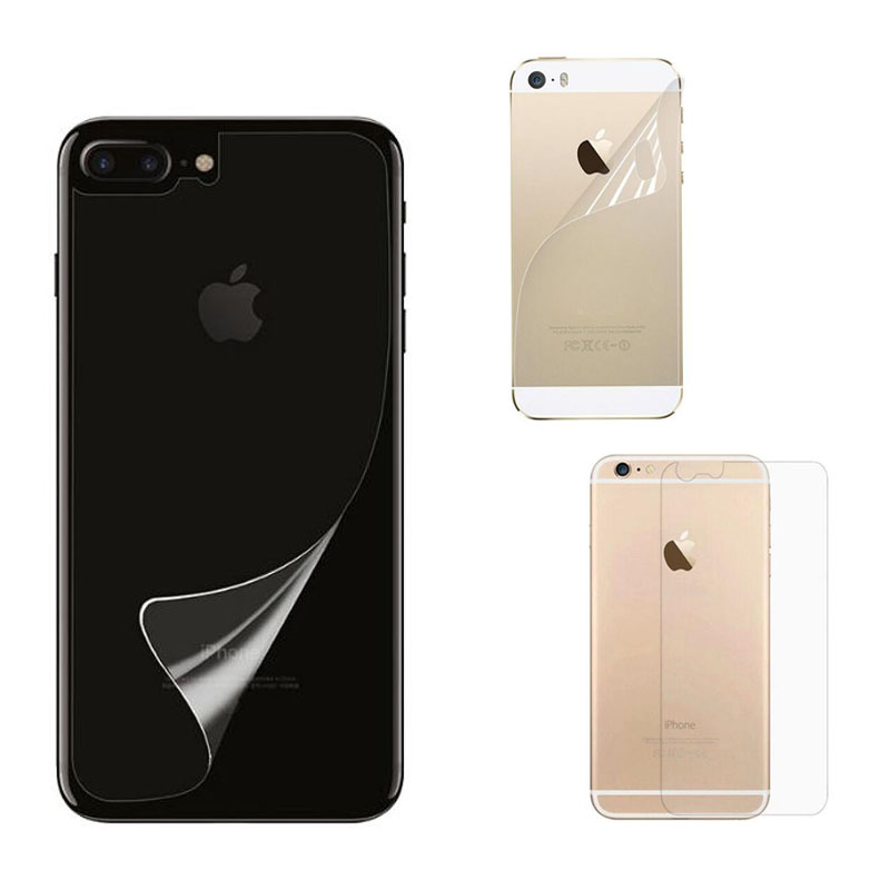 Transparent Clear Matte Glossy Guard Protector Protective <font><b>Film</b></font> for <font><b>iphone</b></font> 5 5S SE 6 6S 7 8 Plus <font><b>X</b></font> XR <font><b>XS</b></font> Max Back Screen Cover image