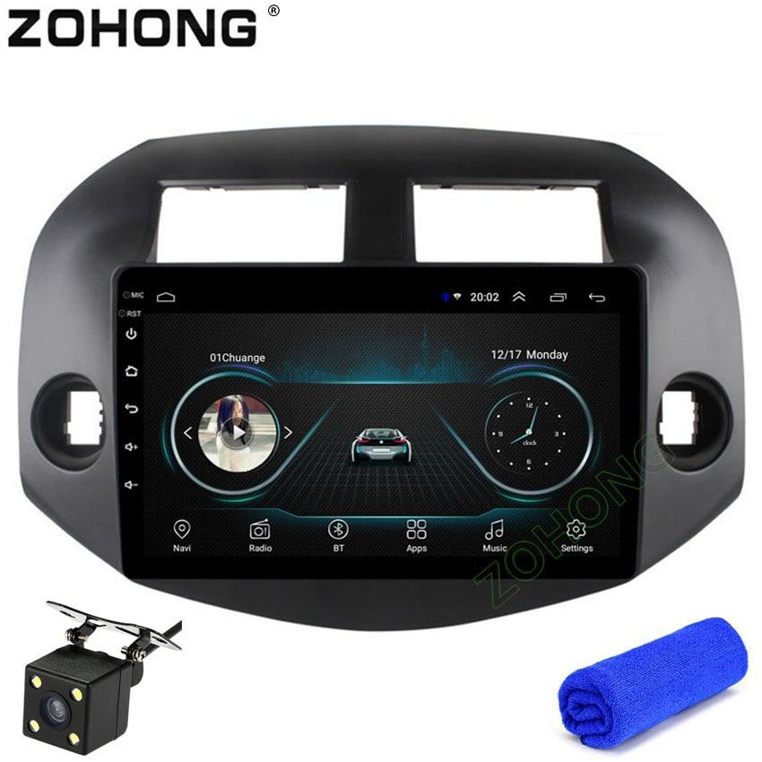 2 5D 10 2inch Android 8 1 car dvd player for Toyota RAV4 Rav 4 2007