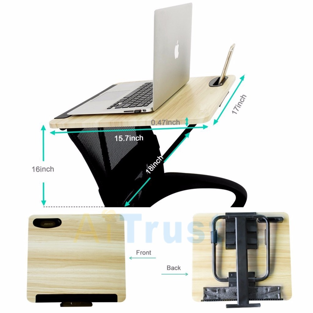 office desk laptop computer notebook mobile. Laptop Desk For Chair Notebook Mount Table Angle Adjustable Mobile Phone Holder Office Tray Lapdesk Mount-in Lapdesks From Computer \u0026 On