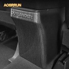 AOSRRUN чехол из углеродного волокна с защитой от ударов, задний Чехол с защитой от ударов, автомобильные аксессуары для Mitsubishi outlander