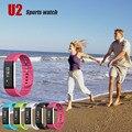 Мужской Женский Bluetooth 4.0 СВЕТОДИОДНЫЙ Водонепроницаемый Смарт-Наручные Часы Браслет Спортивные Часы smart electronics relogio Носимых устройств