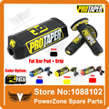 "MX Dirtbike Cross Pro Taper  Square 2.0 Fat Bar Black Cover Pad + Handlebar Colourful Grip Grips for 1-1/8"" bars  Free Shipping"
