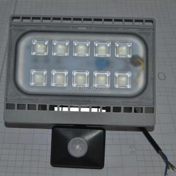 30 W LED Projektör PIR Hareket Sensörü Projektör S Su Geçirmez IP65 Işıklandırmalı Spot Dış Bahçe Duvarı ışığı