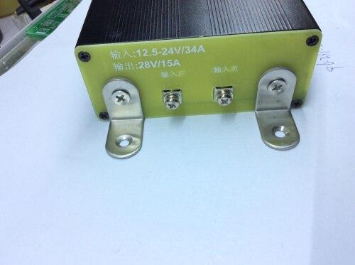 Haute Efficacité de DC-DC High Power Boost alimentation pour Véhicule Radio avec 14 V Ascenseur et 28 V/15A