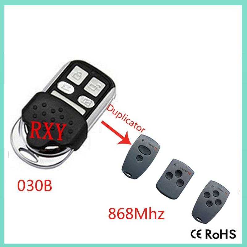 Duplicator Marantec D302,D304.D313  868mhz rolling code remote contor for garage door marantec d302 868 d304 868 d313 868 d321 8 replacement remote control 868mhz free shipping