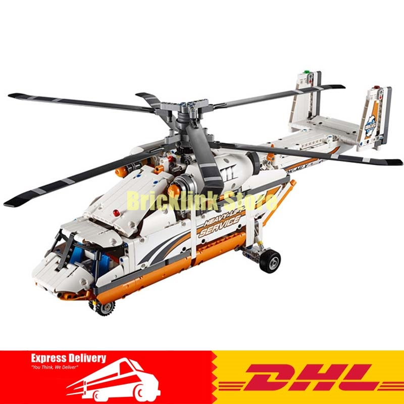 Lepin 20002 technology series mechanical group high load helicopter blocks Compatible With 42052 Boy assembling DIY toys for Kid new lepin 20002 technology series mechanical group high load helicopter blocks compatible with 42052 boy assembling toys