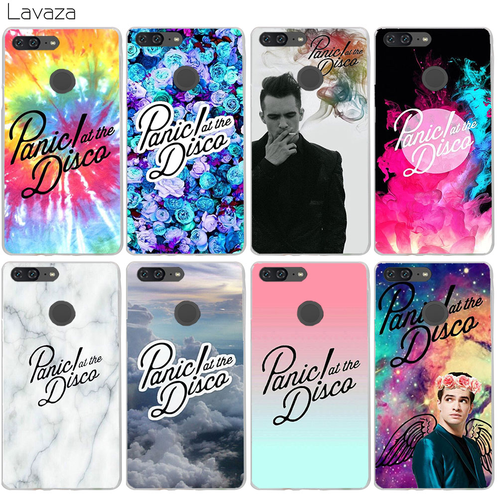 Lavaza Panic At The Disco Case for Huawei Honor 10 9 8 7x 6a 6c Lite Nova 2i y6 2017