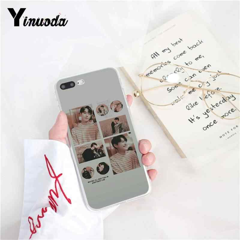 حافظة هاتف من Yinuoda KPOP K.A.R.D MONSTA X NCT 127 لهاتف iPhone 8 7 6 6S Plus X XS MAX 5 5s SE XR 11 11pro 11promax