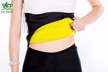 CNHerb Hot Thermo Sweat Neoprene Shapers Slimming Belt Waist Cincher Girdle For Weight Loss Women & Men