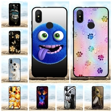For Xiaomi Mi A2 6X Case Ultra-thin Soft TPU Silicone Cover Scenery Patterned Coque Funda