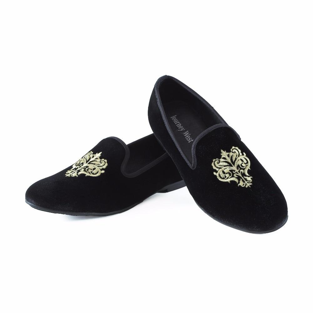 Купить с кэшбэком New Fashion Men Velvet Shoes British Men's Flats Smoking Slippers Men Loafers Dress Shoes Black Casual Shoes Big Size US 7-13