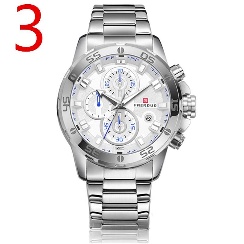 In 2018, new men quartz watch, high-quality outdoor sports men's wristwatch strap, fashion business watch,76 цена