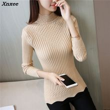 Xnxee 2018 fashion women sweater Korean autumn new womens shirt 33 soft