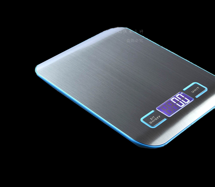 Electronic Digital Kitchen Scale 5kg/1g Stainless Steel  цены