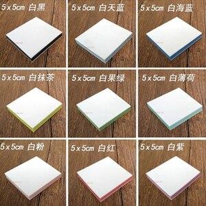 Image 5 - 5*5cm plac grawerowanie gumka znaczek dla majsterkowiczów 10 sztuk/partia kolorowe 3 warstwy dobrej jakości szkolne i biurowe