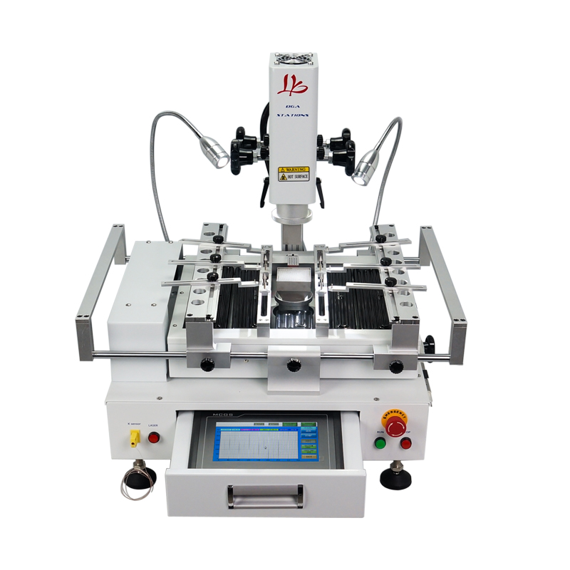 Classic BGA Rework Station LY R690 V 3 3 zones hot air touch screen solder machine