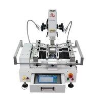 Классический BGA паяльная станция LY R690 V.2 3 зоны горячего воздуха сенсорный экран припойная машина с лазерной указкой 4000 Вт щетка трафаретная