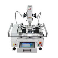 Classic BGA Rework Station LY R690 V.3 3 zones hot air touch screen solder machine with laser point 4300W brush stencil pen