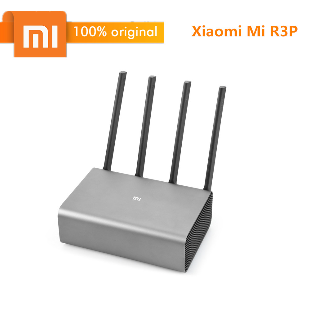 Routeur WiFi sans fil d'origine Xiao mi mi R3P 2600 Mbps routeur intelligent Pro 4 antenne double bande 2.4 GHz + 5.0 GHz dispositif réseau WiFi