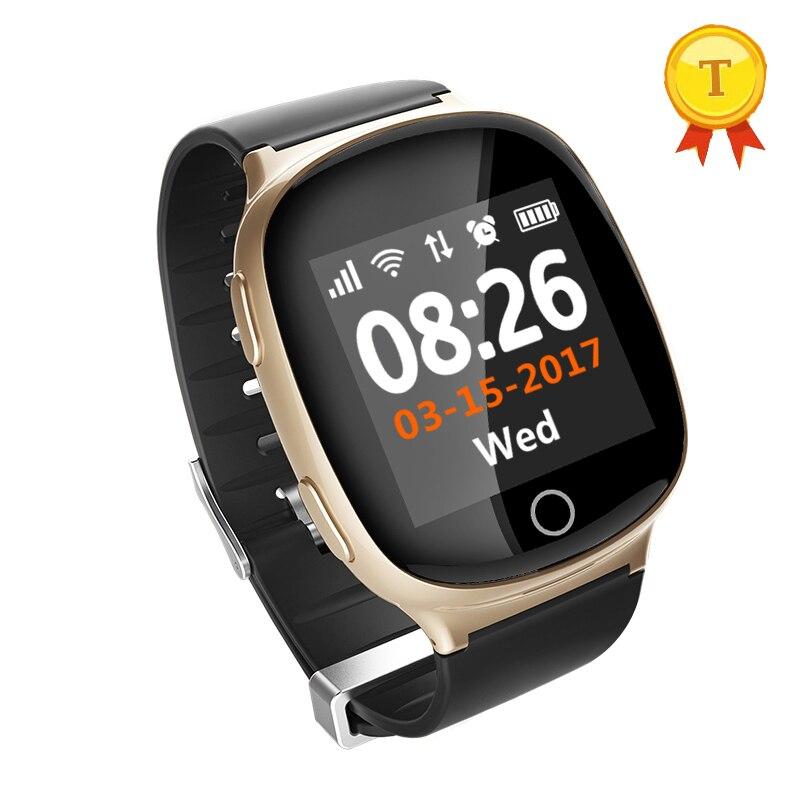 newest popular elder kids baby gps watch GPS LBS wifi positioning smartwatch Heart Rate Elderly Fall Alarm Anti lost smart watch