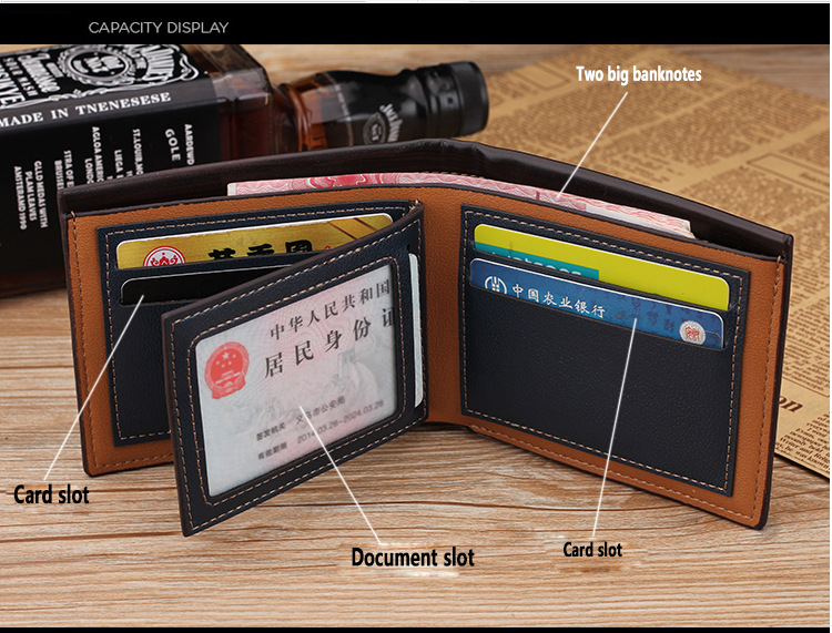 HTB1t 6iajnuK1RkSmFPq6AuzFXau Top 2019 Vintage Men Leather Brand Luxury Wallet Short Slim Male Purses Money Clip Credit Card Dollar Price Portomonee Carteria