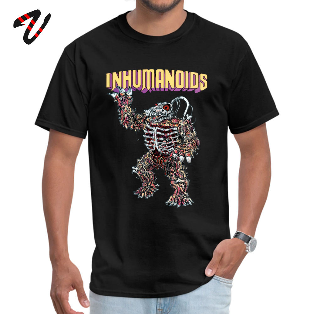 Inhumanoids Compose Tshirts Short Tupac Funny Fashionable Men's Father Day Tops Shirt Funny Tops & Tees Crewneck All Kazakhstan image