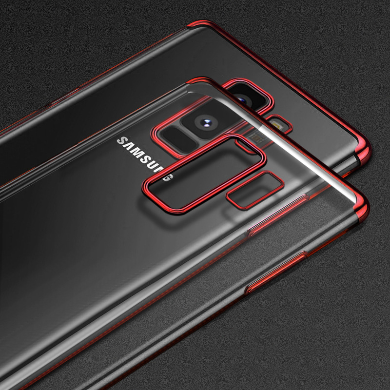 Luxury Plating TPU Soft Case 3 In 1 Cover For Samsung Galaxy S8 S9 Plus A5 J3 J5 J7 2017 J6 J8 2018 Grand Prime Cases Funda Capa in Half wrapped Cases from Cellphones Telecommunications
