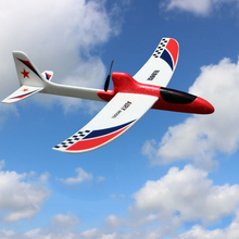 Model Airplane Kit DIY Glider Toy Planes Electric Rc Airplane for Kids